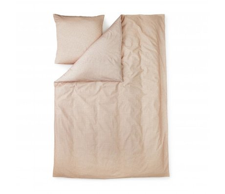 Normann Copenhagen Plus nude pink cotton duvet 140x200cm