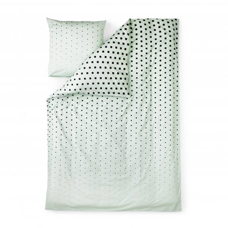Normann Copenhagen Duvet Cube mint green cotton 140x200cm