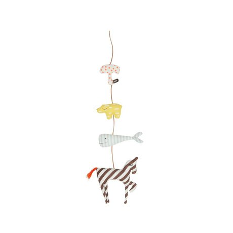 OYOY Animals Sling Mobile Animal multicolour cotton 80cm