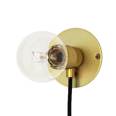 Frama Wandlamp Frama goud brass messing Ø25cm
