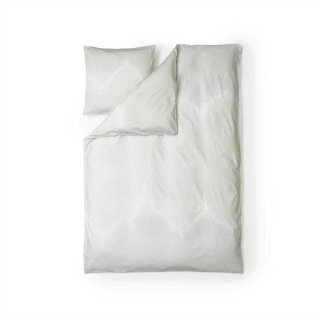 Normann Copenhagen Sprinkle white cotton duvet cover 140x200cm