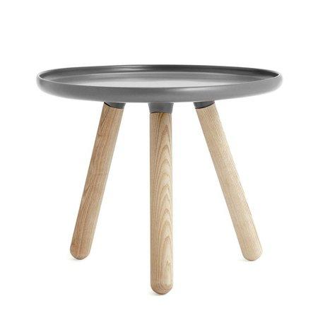 Normann Copenhagen Table Tablo plastique gris cendre Ø50cm