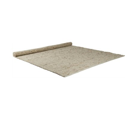 Zuiver Pure natural wool sisal carpet 160x230cm