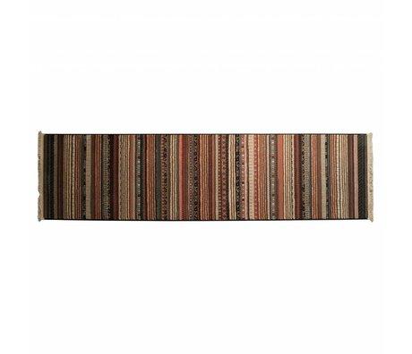 Zuiver Carpet Nepal multicolour dark 67x245cm