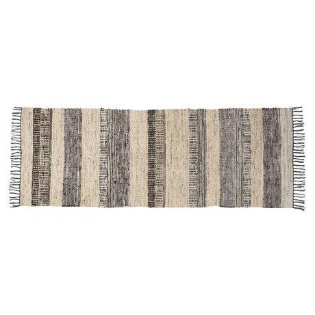 Zuiver Fox tapis de laine multicolore 80x200cm