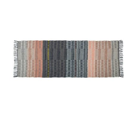 Zuiver Rug Salmon multicolour wool 80x200cm