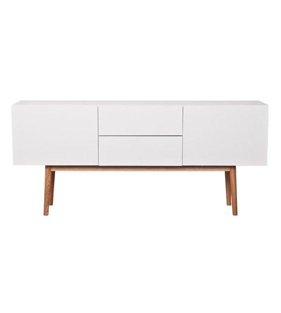 zuiver tv schrank schrank hoch auf wei em holz mit. Black Bedroom Furniture Sets. Home Design Ideas