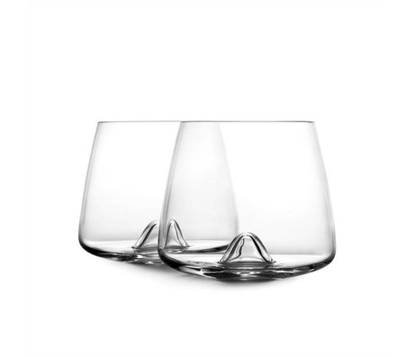 Normann Copenhagen Glass of Whiskey glass set of two ø7,5x8,2cm