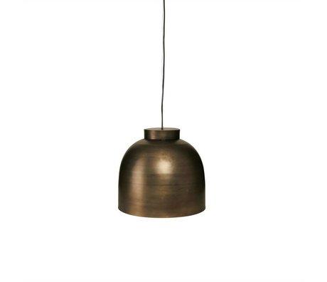 Housedoctor Hanglamp BOWL koper metaal Ø35cm
