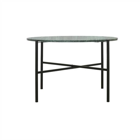 Housedoctor The Green green marble table metal Ø70x45cm