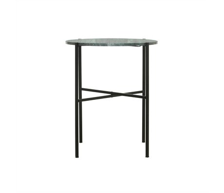 Housedoctor The Green green marble table metal Ø45x55cm