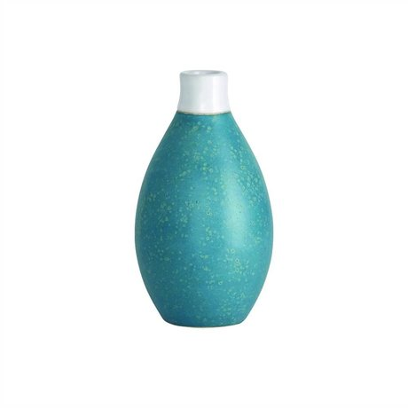 Housedoctor Three light blue ceramic vase Ø8,5x15cm