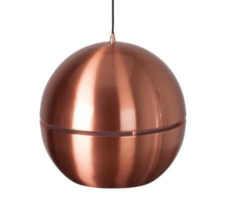 Zuiver Hanglamp 'Retro 70' koper metaal Ø40x37cm