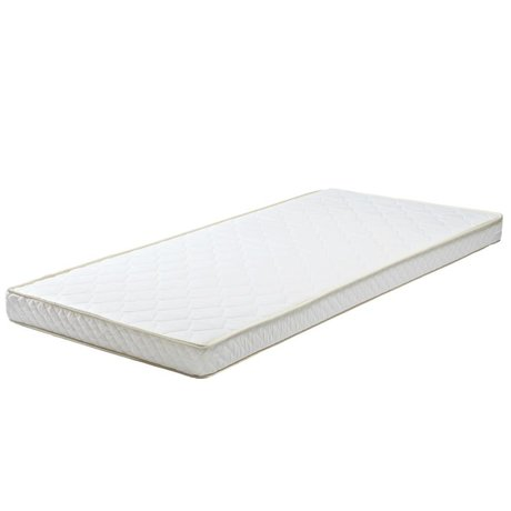 LEF collections Matras 90x190x12cm wit textiel polyether voor matraslade
