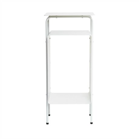 Housedoctor Occasional table Cream white metal 32x30x70cm