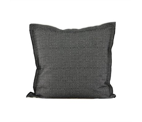 Housedoctor Cushion cover CA black white cotton 50x50cm