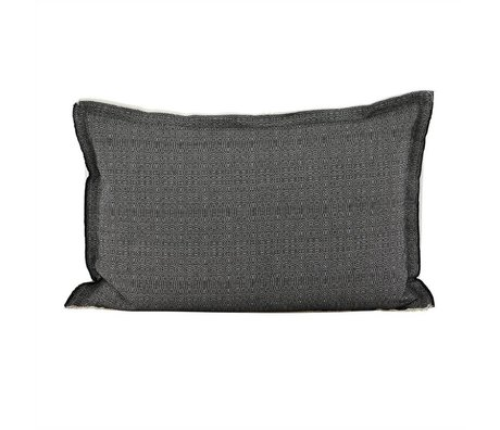 Housedoctor Cushion cover CA black white cotton 40x60cm