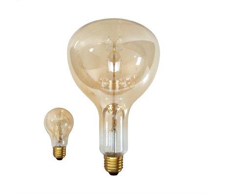 HK-living Incandescent lightbulb with gold effect 18x18x36cm