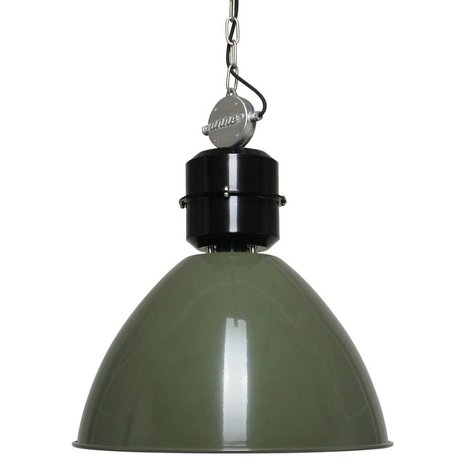 Anne Lighting Anne Frisk pendant light green aluminum ø50x49cm