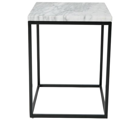 Zuiver Side Table Marbre Marbre Power 32x32x43cm