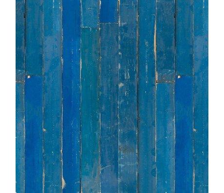 NLXL-Piet Hein Eek Tapete Blau Scrapwood Papier blau 900x48,7cm