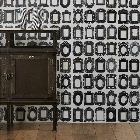 NLXL-Daniel Rozensztroch Tapetenrahmen schwarz weiß 1000x48,7cm