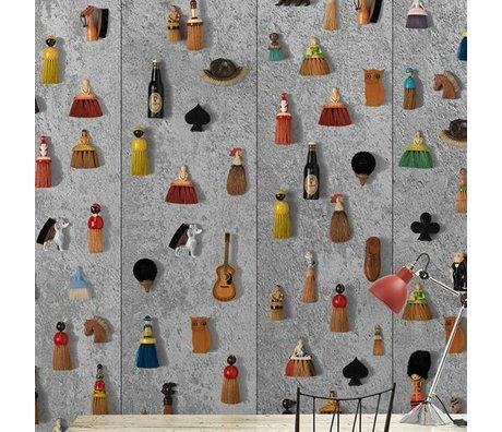 NLXL-Daniel Rozensztroch Papier peint Balais multicolore 1000x48,7cm