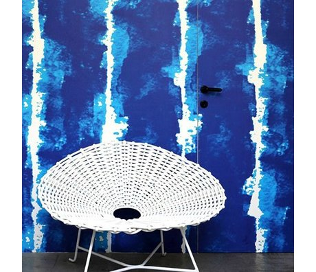 NLXL-Paola Navone Papier peint aquarelle bleu 1000x48.7cm (4.9 m2)