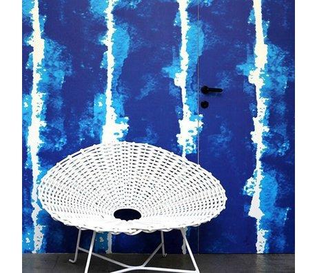 NLXL-Paola Navone Tapete Wasserfarben blau 1000x48,7 cm (4,9 m2)
