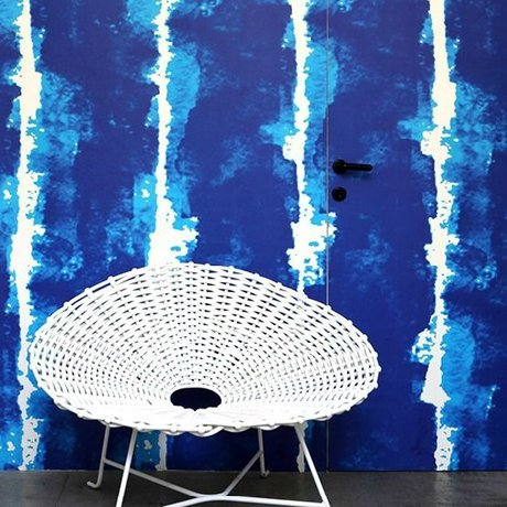 NLXL-Paola Navone Behang Water Colors blauw 1000x48,7cm (4,9 m2)
