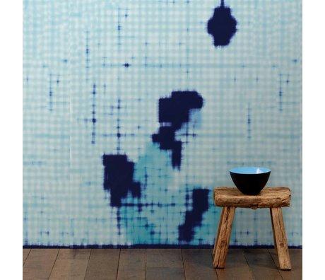 NLXL-Paola Navone Tapete Geisha sitzend blau 330x146.1cm (4.8 m2)