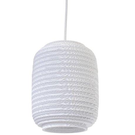Graypants Ausi 8 Hängeleuchte Anhänger weißer Pappe Ø19x24cm