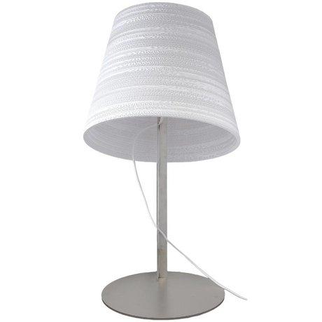 Graypants Tafellamp Tilt wit karton Ø34x24cm
