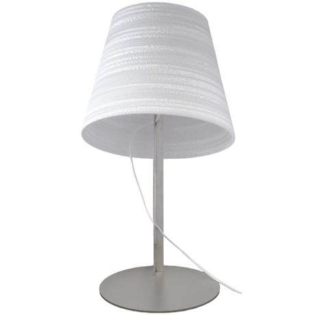 Graypants Tilt Table Lamp carton blanc Ø34x24cm