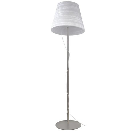 Graypants Lampe de table étage carton blanc Ø46x35cm
