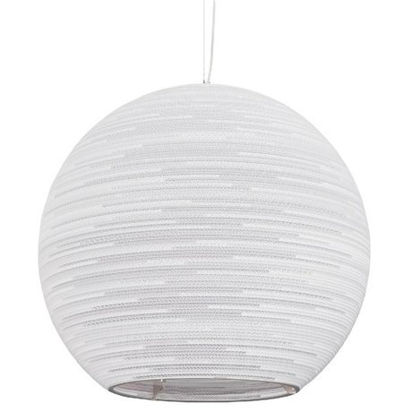 Graypants Sun Pendentif lampe suspendue 32 carton blanc de Ø82x75cm