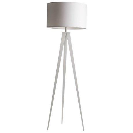 Zuiver Tripod floor lamp white fabrics metal 157x50cm