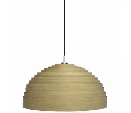 Ay Illuminate Hanglamp Lump Large naturel bruin bamboe ø97x50cm