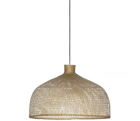 Ay Illuminate Hanging lamp Bamboo M1 brown bamboo ø75x47cm