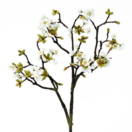 HK-living Decoration blossoming peach branch 92cm