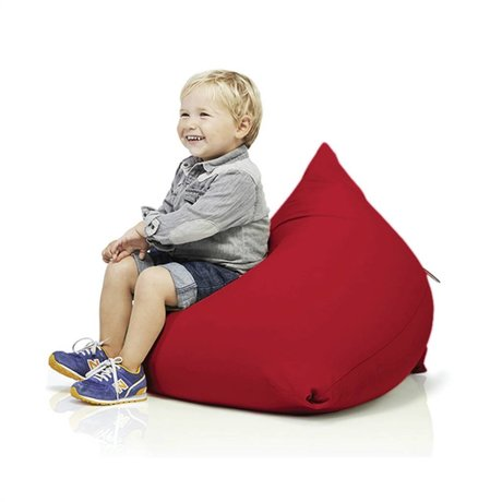 Terapy Beanbag Sydney pyramid red cotton 60x60x60cm 130liter