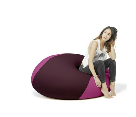Terapy Pouf Ollie aubergine rose 100x100x80cm 700liter