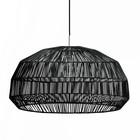 Ay Illuminate Hanging lamp Nama first black rattan ø72x36,5cm