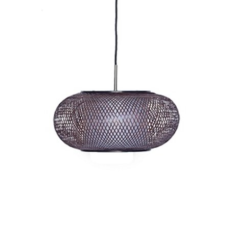 Ay Illuminate Hanging Lamp Twiggy G Shade brown bamboo Ø40x19cm