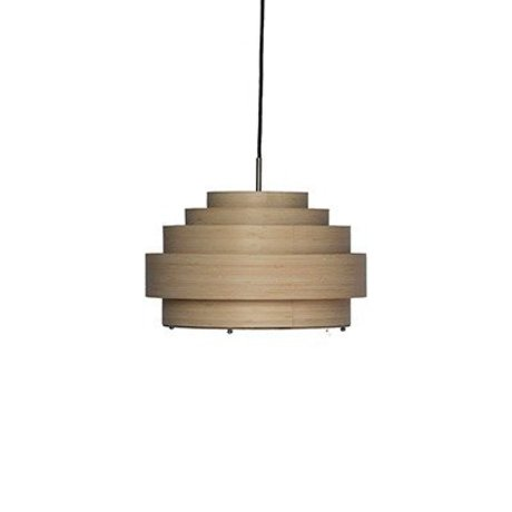 Ay Illuminate Hanglamp Thin small naturel bruin bamboe Ø40x24cm