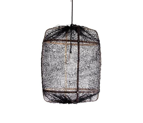 Ay Illuminate Hanging lamp Z5 natural black bamboo ø42x57cm