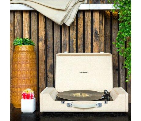 Crosley Radio Crosley Nomad Portable Turntable wood brown 61x14x33cm
