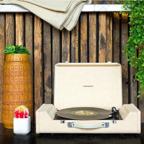 Crosley Radio Crosley Nomad Draagbare Platenspeler hout bruin 61x14x33cm