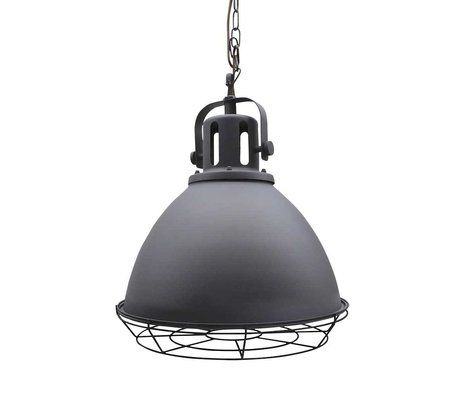 LEF collections Spot metal pendant light gray 47x47x45cm