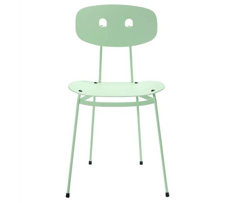 Tristan Frencken Dining chair Dining Are mint green aluminum 45x38x84,5cm